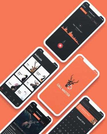 Simple Mockup Free Scene mobile - Hunter